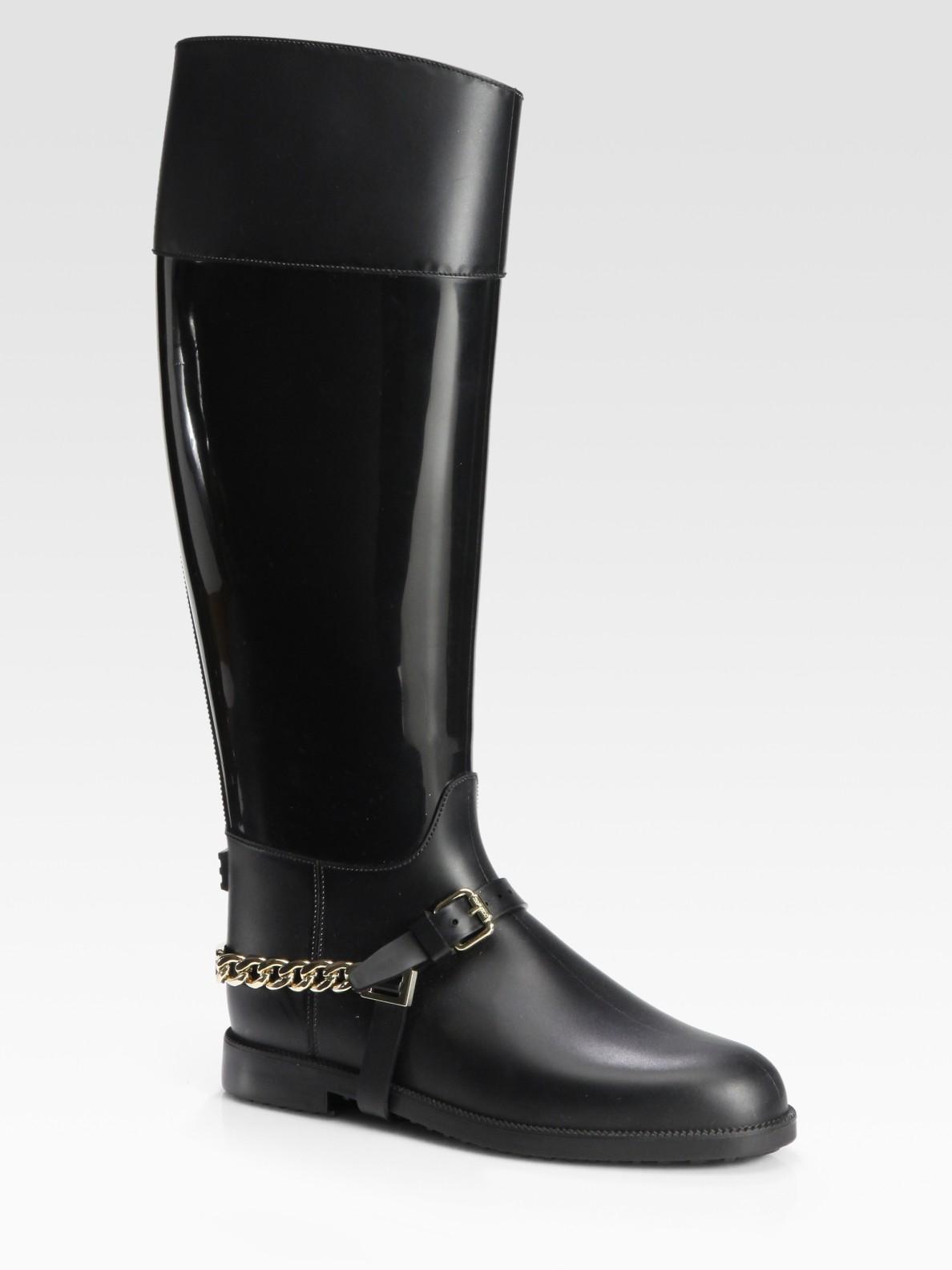 jimmy choo cheshire flat boots in black lyst