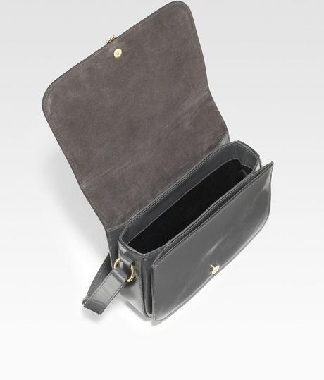 yves saint laurent rive gauche handbag - yves saint laurent monogramme sac universite leather shoulder bag ...
