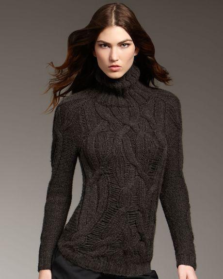 Вязаный свитер на нестандартную фигуру фото 5 увеличить