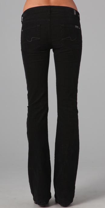7 Pour Tous Les Pantalons Femme L'homme En Coton Mélangé Velours Côtelé Maigre Taille De Charbon 24 7 Pour Toute L'humanité hOIWV