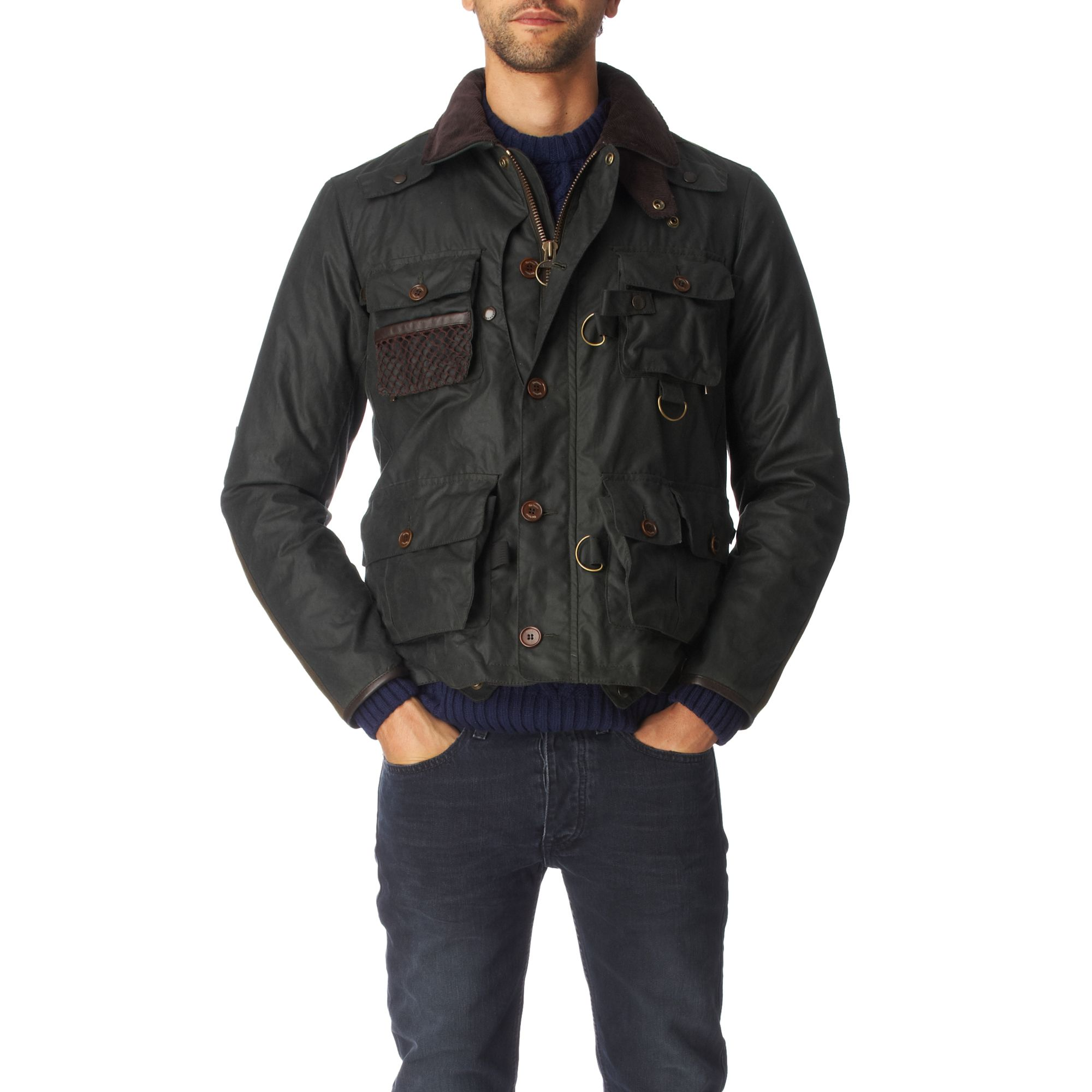 Barbour Spey Fishing Jacket In Green For Men Sage Lyst