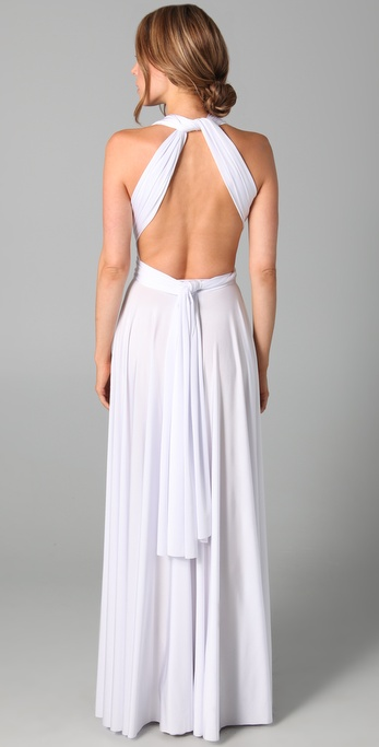 Twobirds Long Convertible Dress In White Lyst