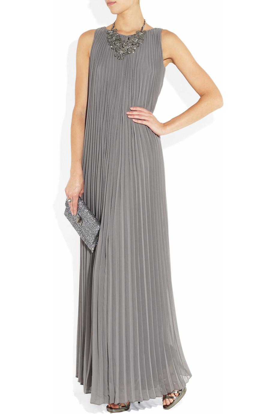 best 28 gray chiffon maxi dress images