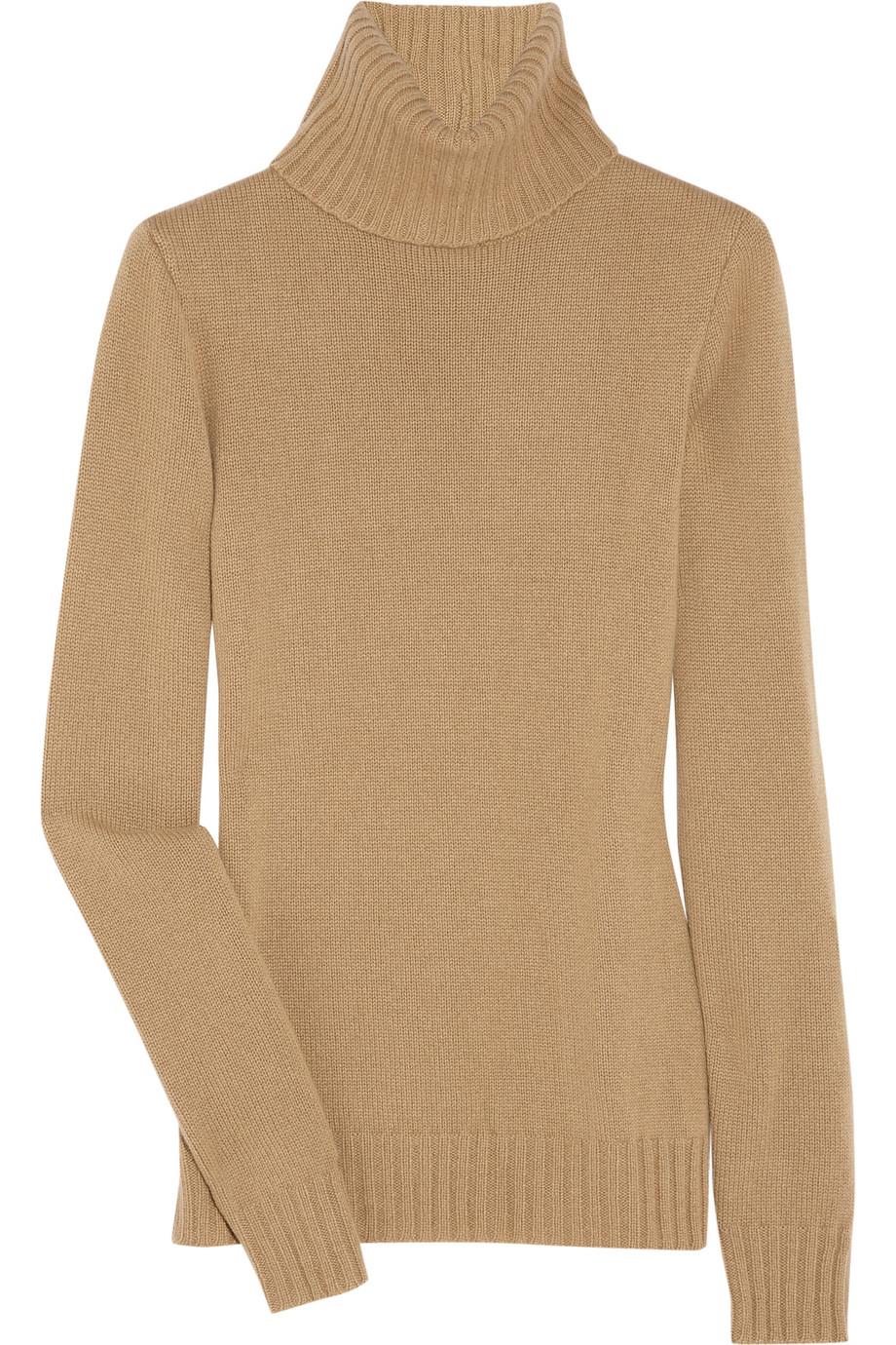 Ralph Lauren Collection Long Sleeve Cashmere Turtleneck In