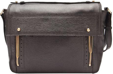 3.1 Phillip Lim Pashli Messenger Bag in Black