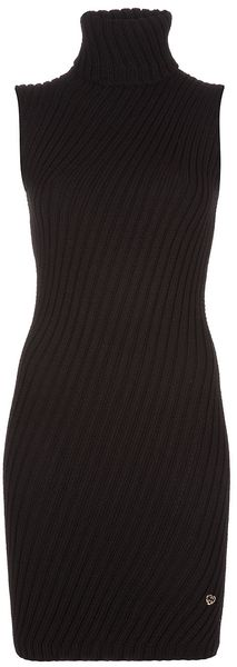 Gucci Roll Neck Dress - Lyst