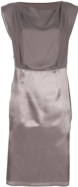 Maison Martin Margiela Shift Dress in Purple (lilac)