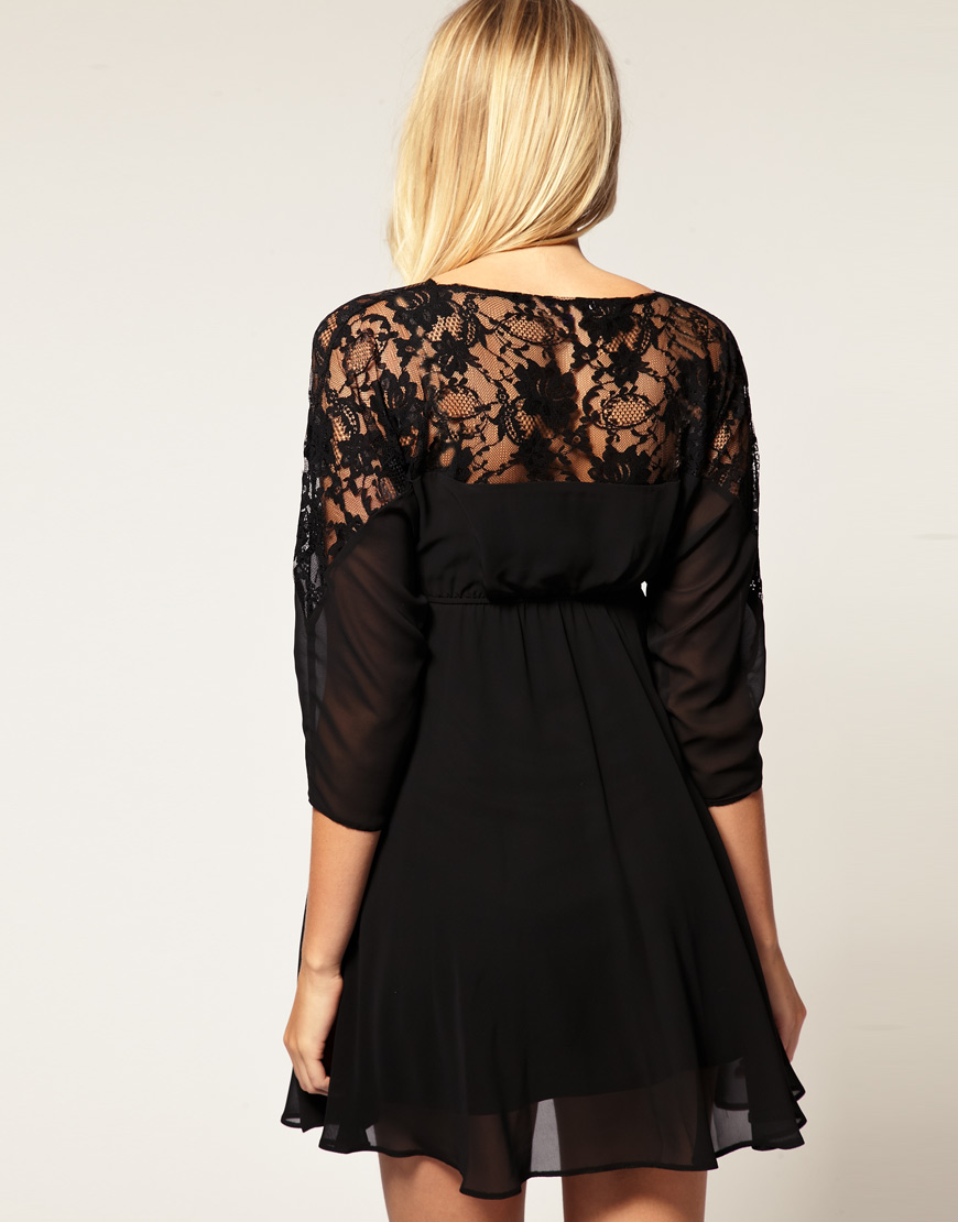 Lyst Asos Collection Asos Maternity Lace Top Batwing