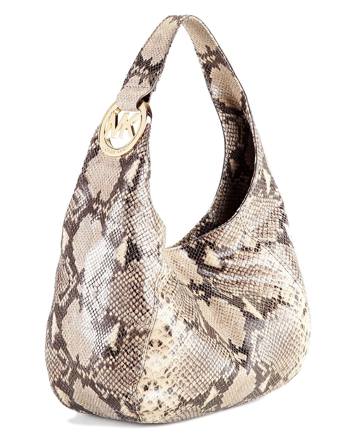 Michael Michael Kors Fulton Medium Shoulder Bag Dark Sand 79