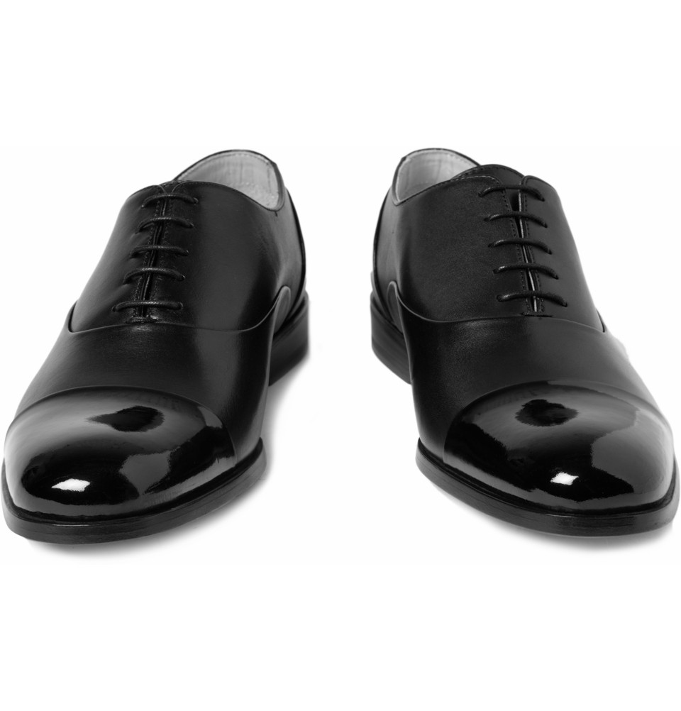 Mr. Hare Miller Patent Toe Cap Shoes in