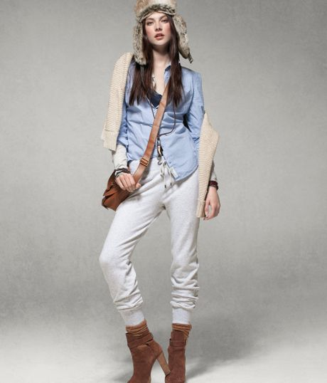 H&m Sweatpants in Gray