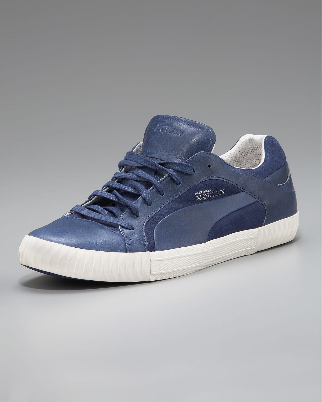 502cbf2e8ca Lyst - Alexander McQueen X Puma Street Climb Low-top Sneaker in Blue ...