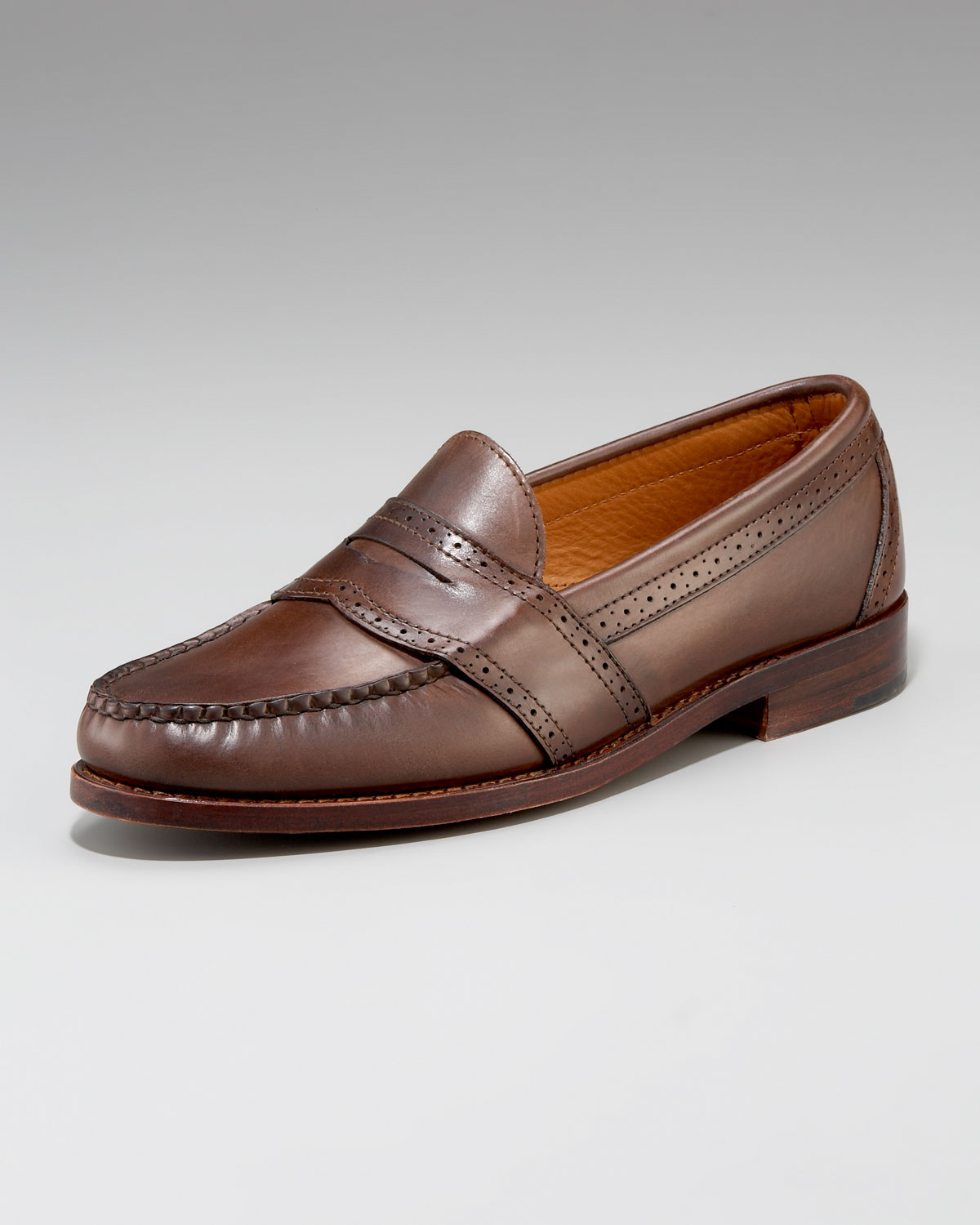 546b7a4d2ec Gallery. Previously sold at  Neiman Marcus · Men s Penny Loafers ...