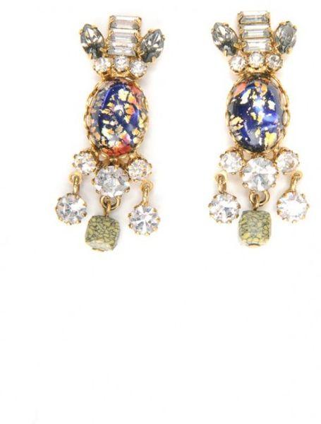 Dannijo Liv Earrings in Multicolor (multi)