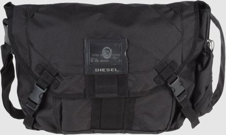 Diesel Large Fabric Bags in Blue for Men
