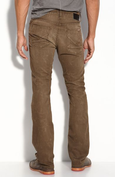 Hudson Beau Micro Bootcut Jeans (miner Wash) in Brown for Men (miner) | Lyst