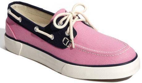 Polo Ralph Lauren Lander Boat Shoe in Blue for Men (pink