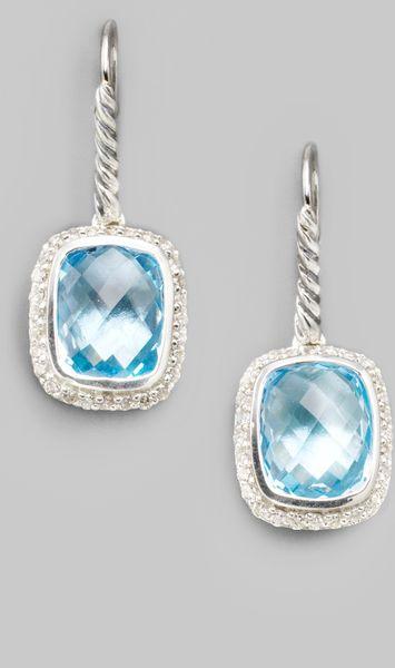 david yurman blue topaz sterling silver