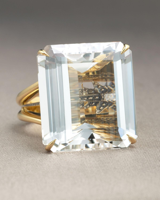 Lyst H Stern Crystal Highlight Ring In Metallic