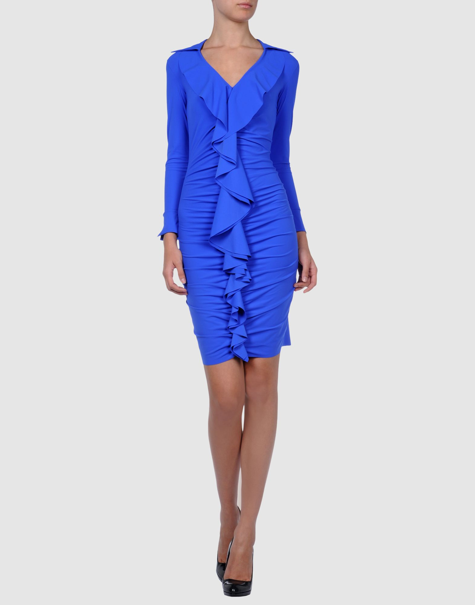 Chiara Boni The Most Popular Dress In America: La Petite Robe Di Chiara Boni Short Dresses In Blue