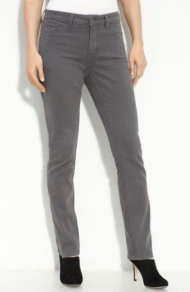 not your daughter 39 s jeans stretch denim leggings in gray. Black Bedroom Furniture Sets. Home Design Ideas