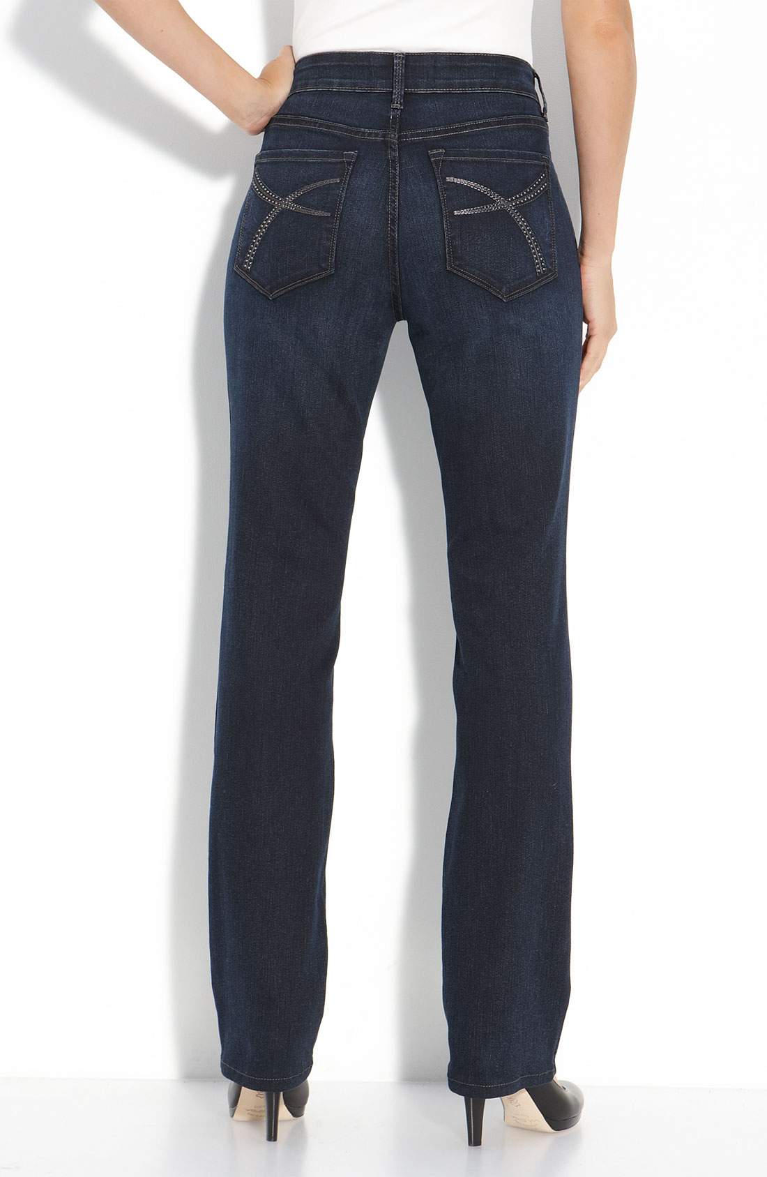 not your daughter 39 s jeans marilyn straight leg stretch. Black Bedroom Furniture Sets. Home Design Ideas