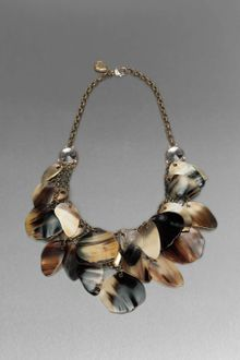 St. John Horn Statement Necklace - Lyst