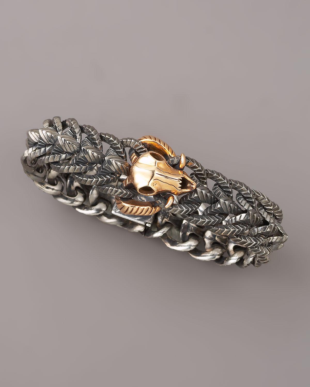 Rams Head Bracelet