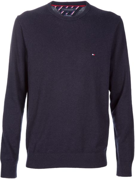 Tommy Hilfiger Sweater in Blue for Men (navy)