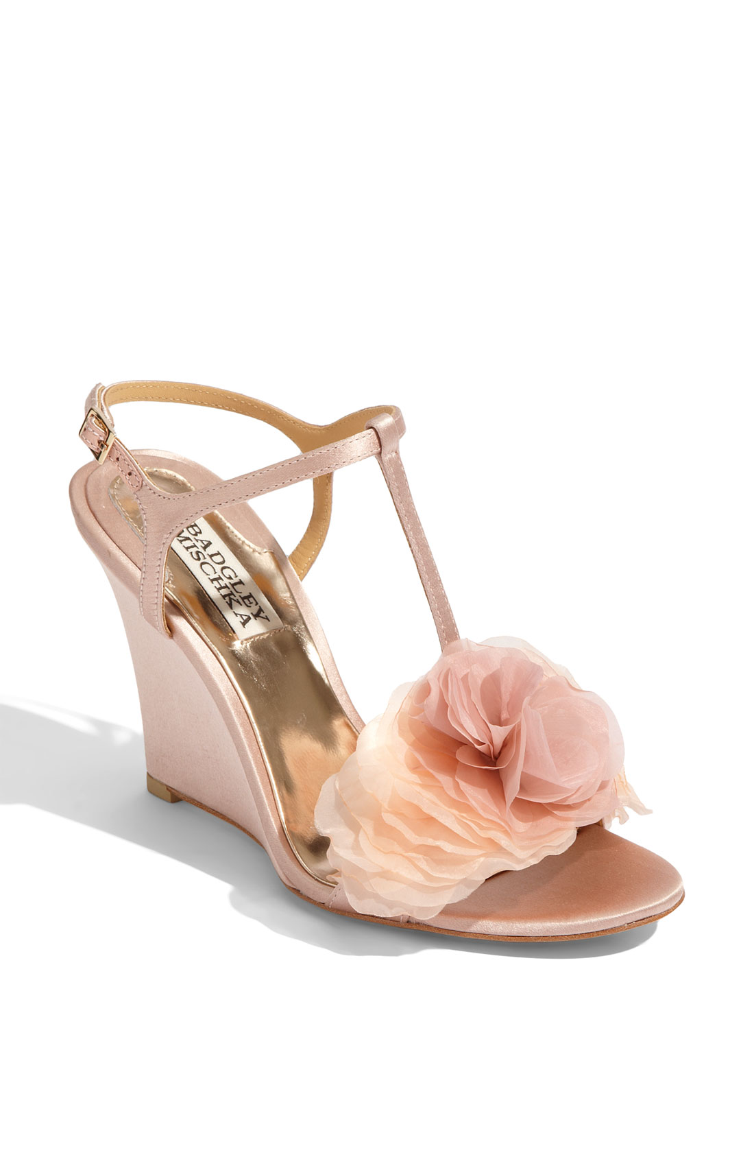 badgley mischka lyndee in pink rose lyst