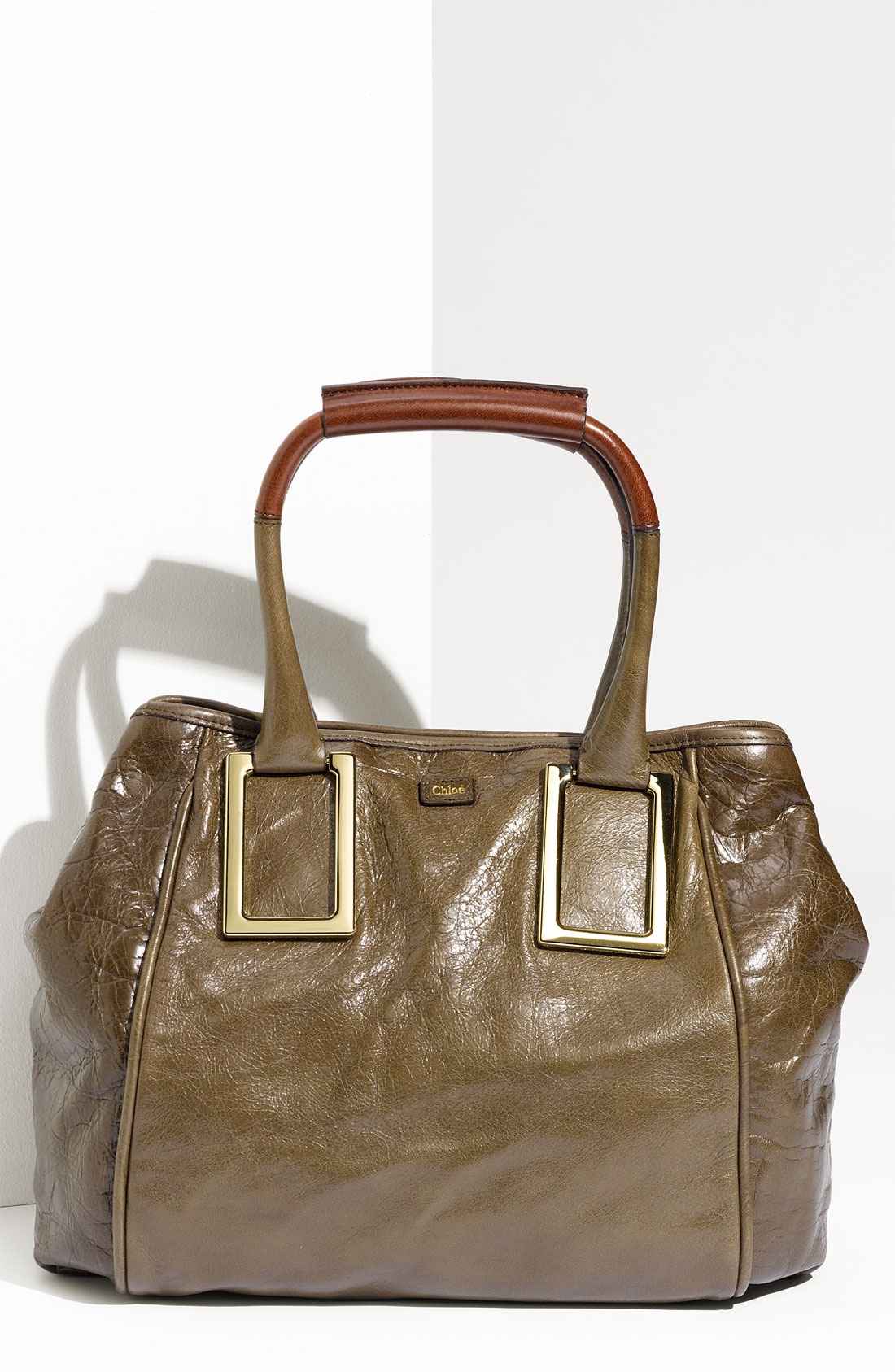 Chlo¨¦ Ethel - New Leather Tote in Brown (anthracite) | Lyst