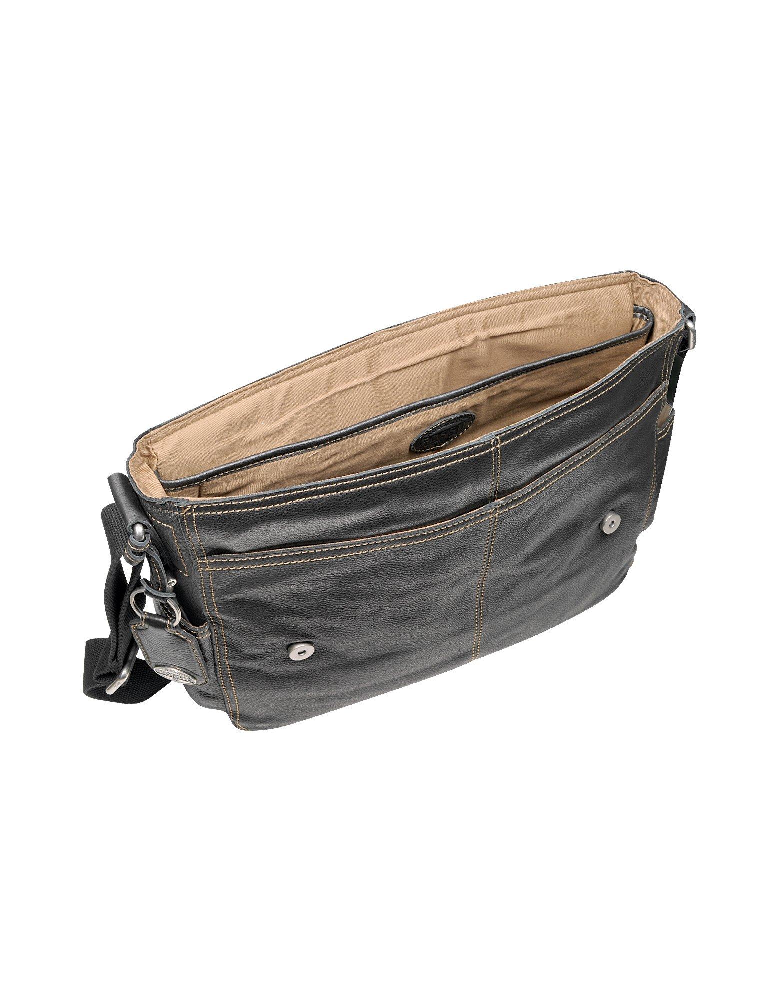 Lyst Fossil Desperado Ew Leather Laptop Messenger Bag