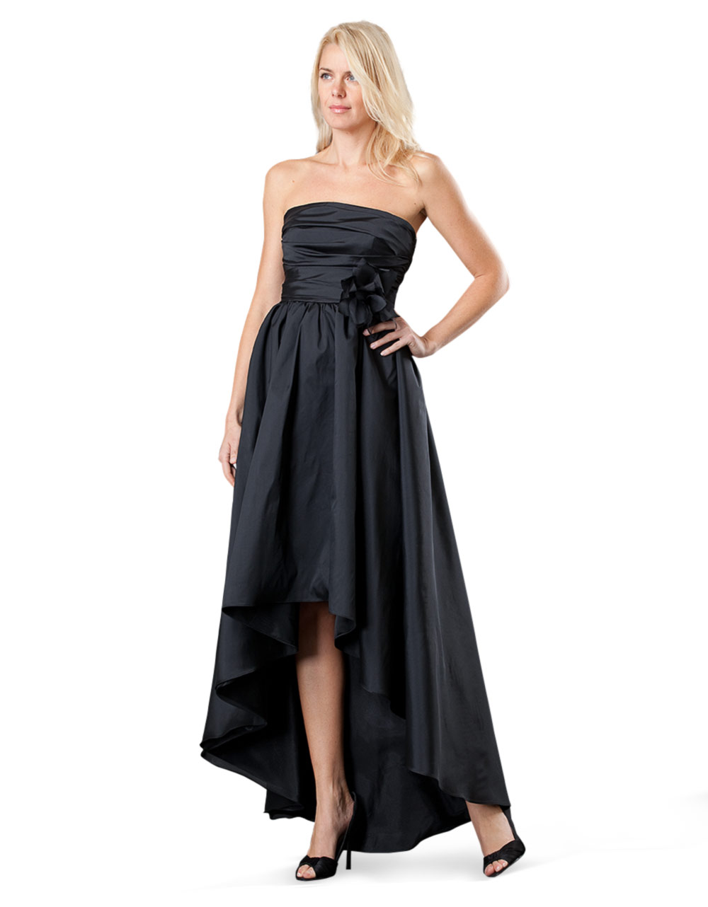 Js Collections Strapless Ruched Gown - Best Gowns And Dresses Ideas ...