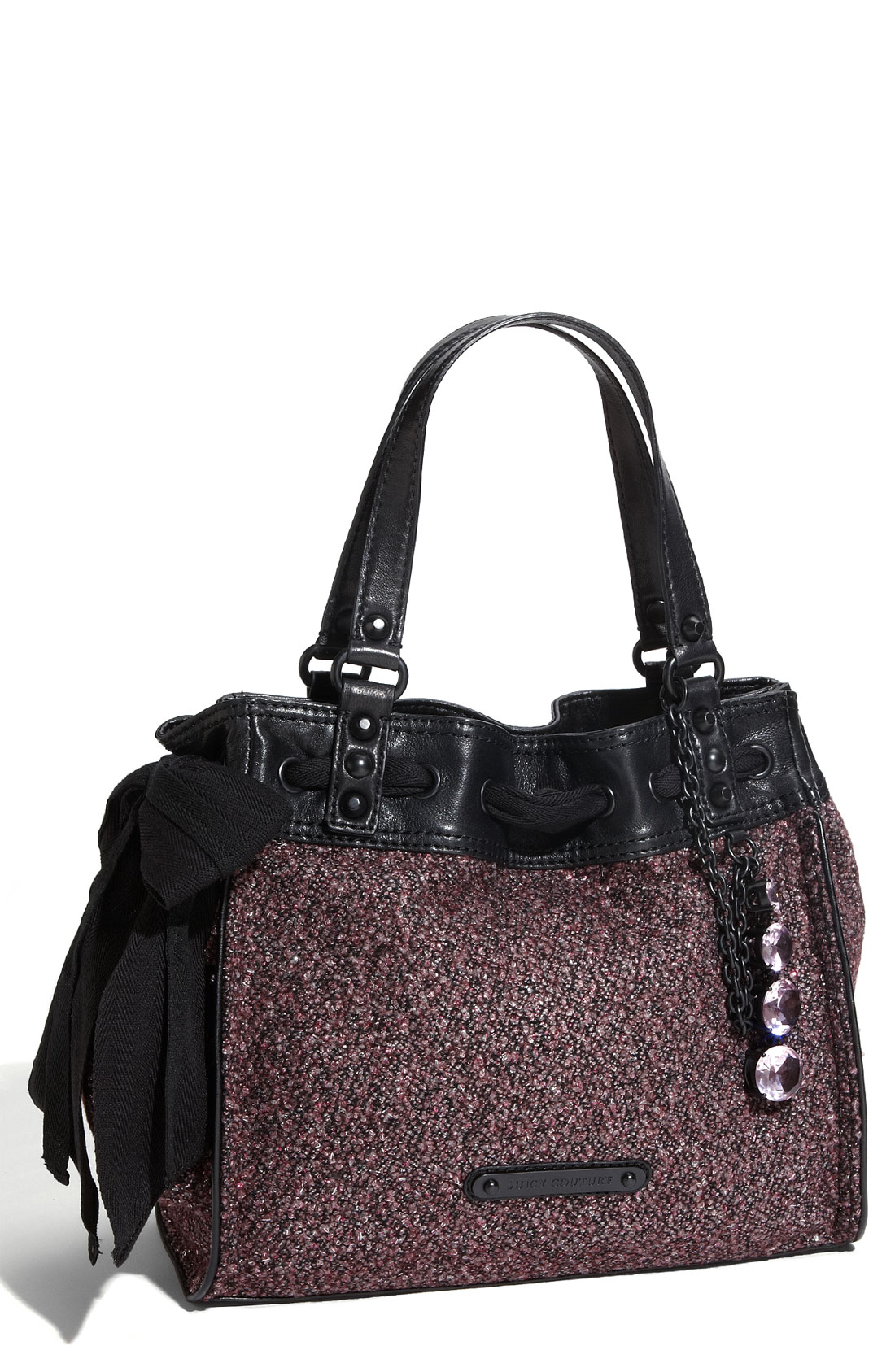 juicy couture after dark daydreamer tote in purple rich aubergine lyst. Black Bedroom Furniture Sets. Home Design Ideas