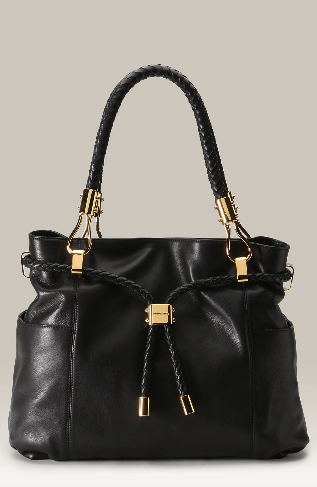 d665d3ee65b0 ... Michael kors Skorpios Pebbled Leather Drawstring Satchel in mk satchels  skorpios menu mksale ...
