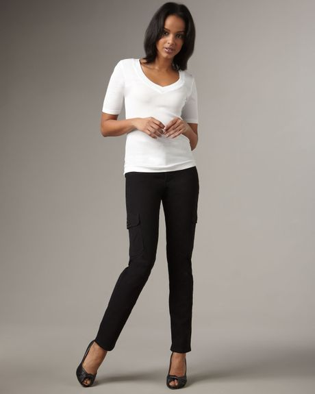 not your daughter 39 s jeans straight leg cargo pants in. Black Bedroom Furniture Sets. Home Design Ideas