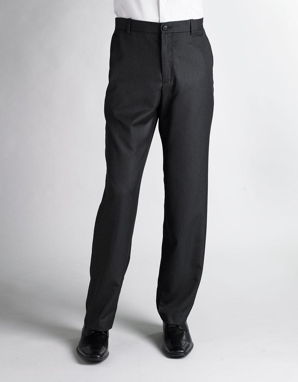 Perry Ellis Pinstripe Dress Pants In Black For Men Lyst