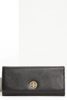 Tory Burch Robinson Envelope Continental Wallet - Lyst