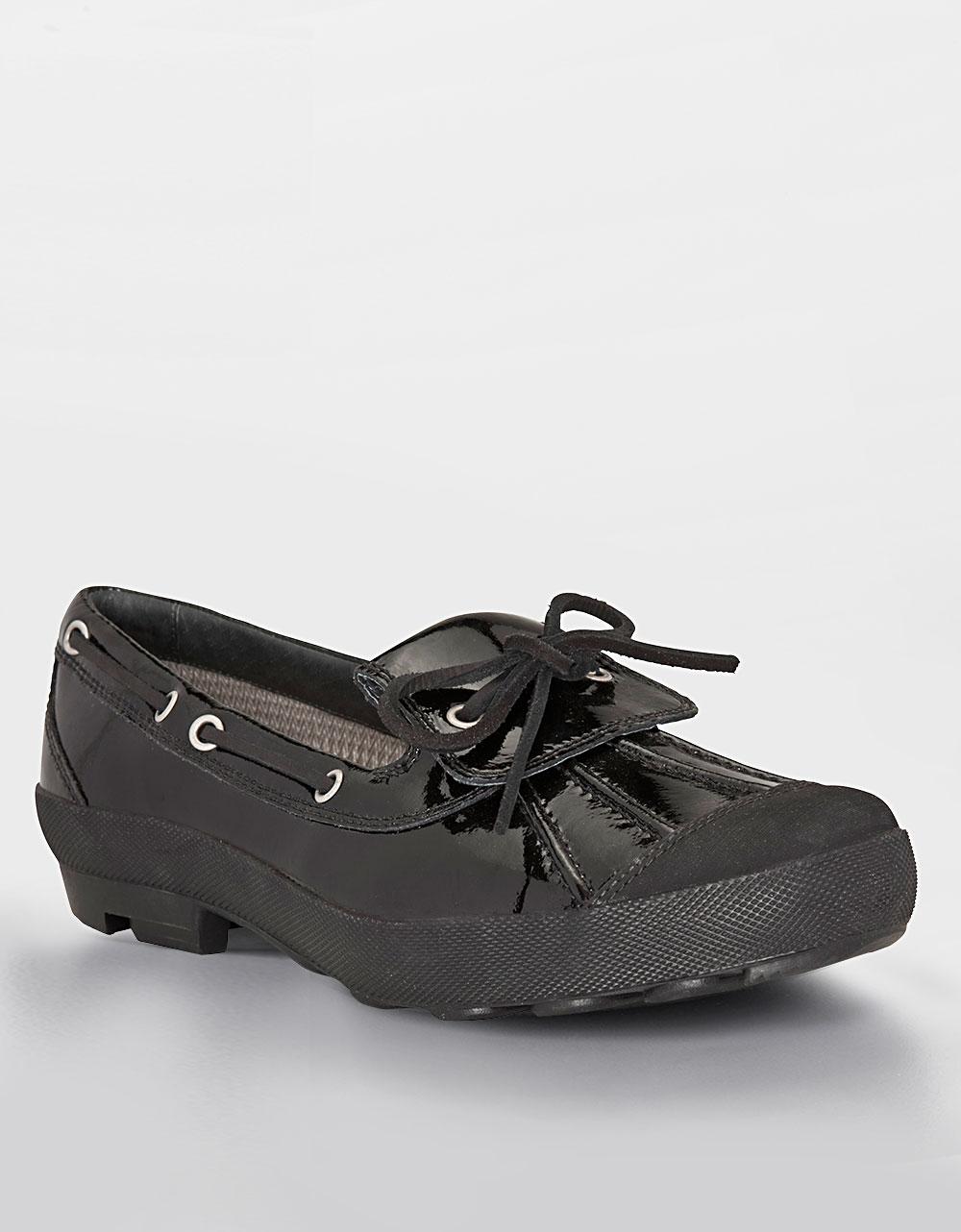 black ugg rain shoes