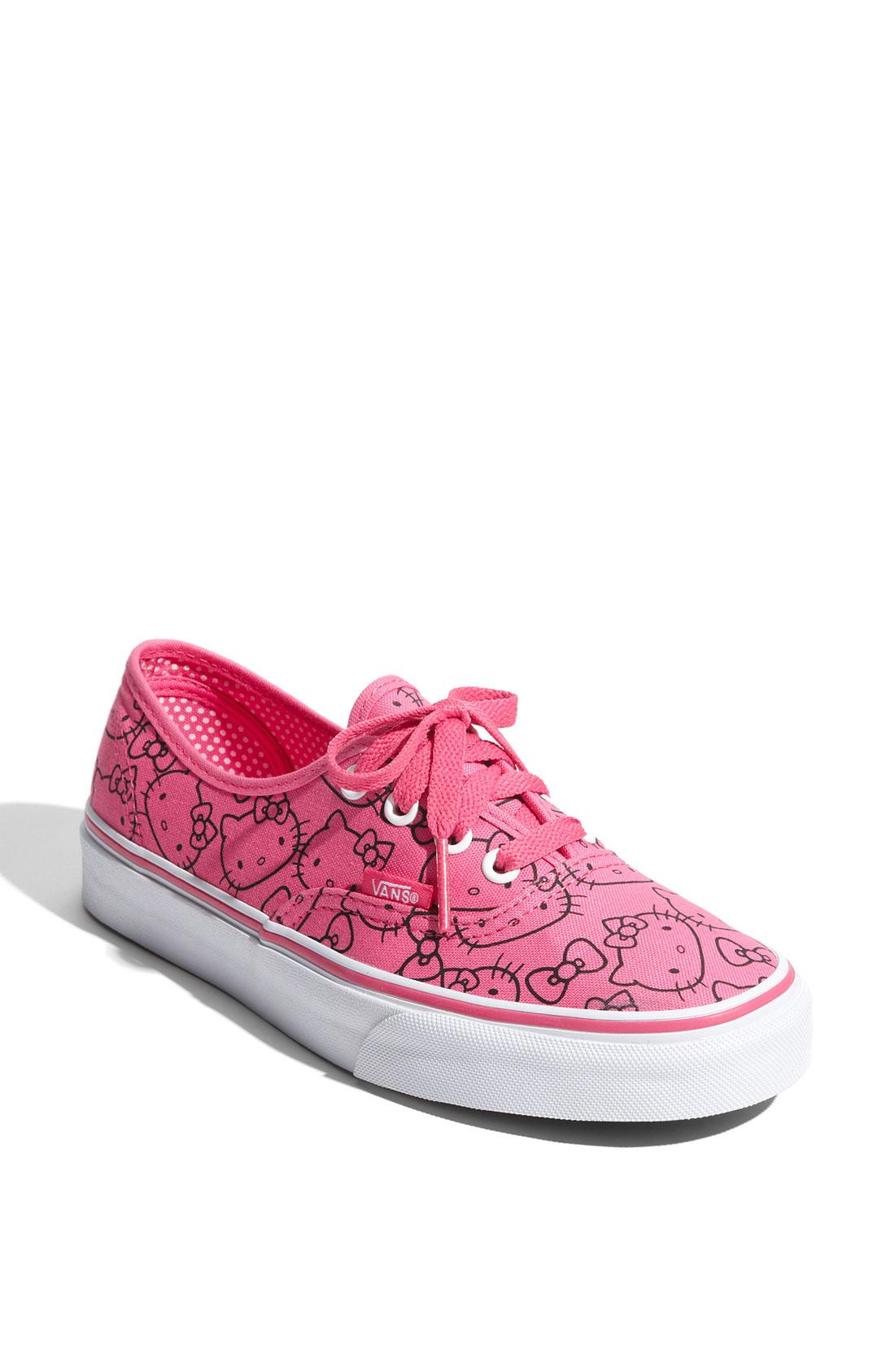 fc4643e24e6 Lyst - Vans Hello Kitty® - Authentic Sneaker (women) (limited ...
