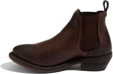 Vintage Shoe Company Vintage Shoe Covington Boot in Brown (chocolate