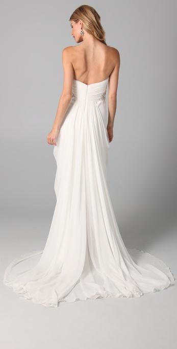 Silk Crepe Gown – fashion dresses