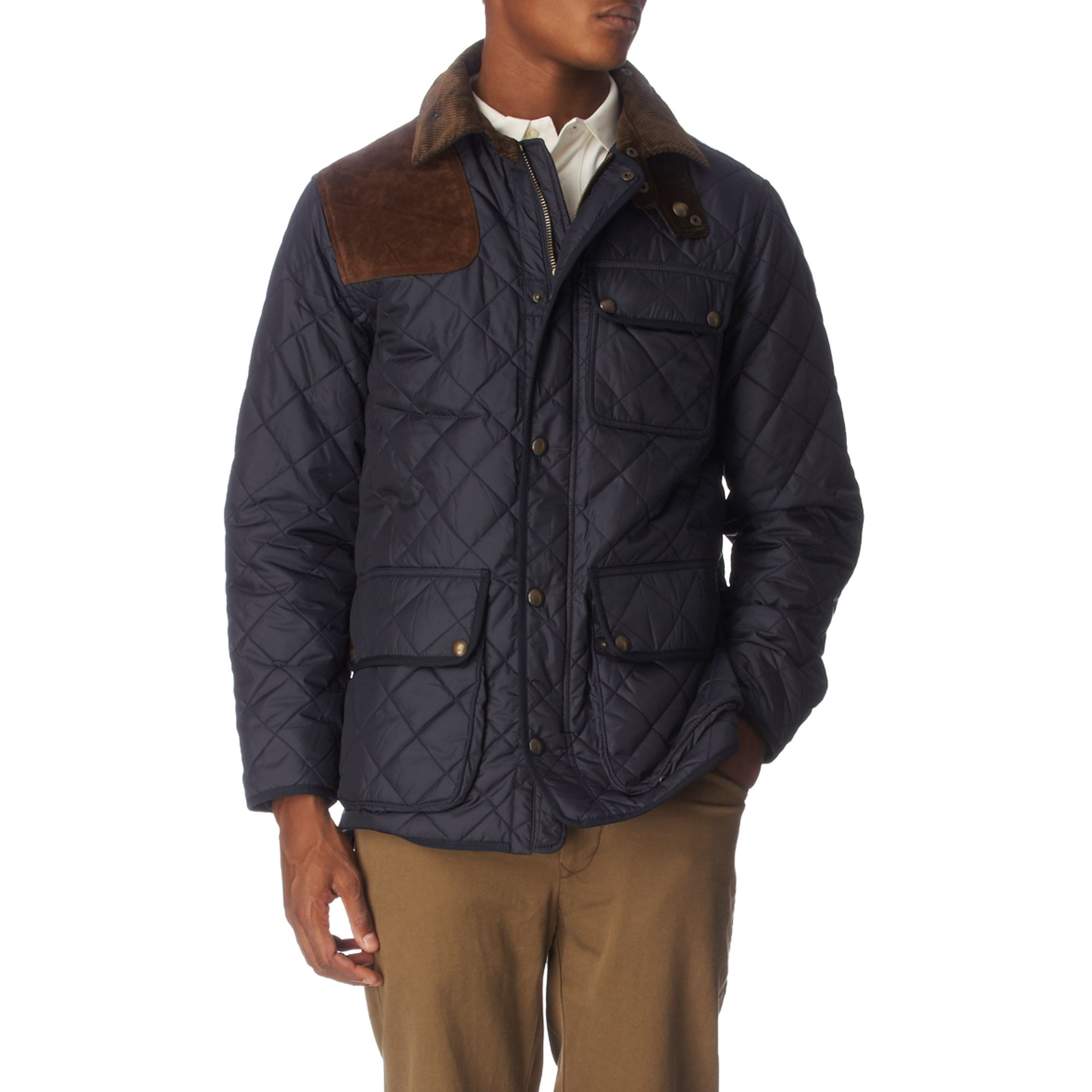 Lauren Quilted Blue Kempton Men For Ralph Jacket ordCtxQsBh