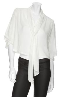 Elizabeth And James Romantic Lace Insert Shirt - Lyst