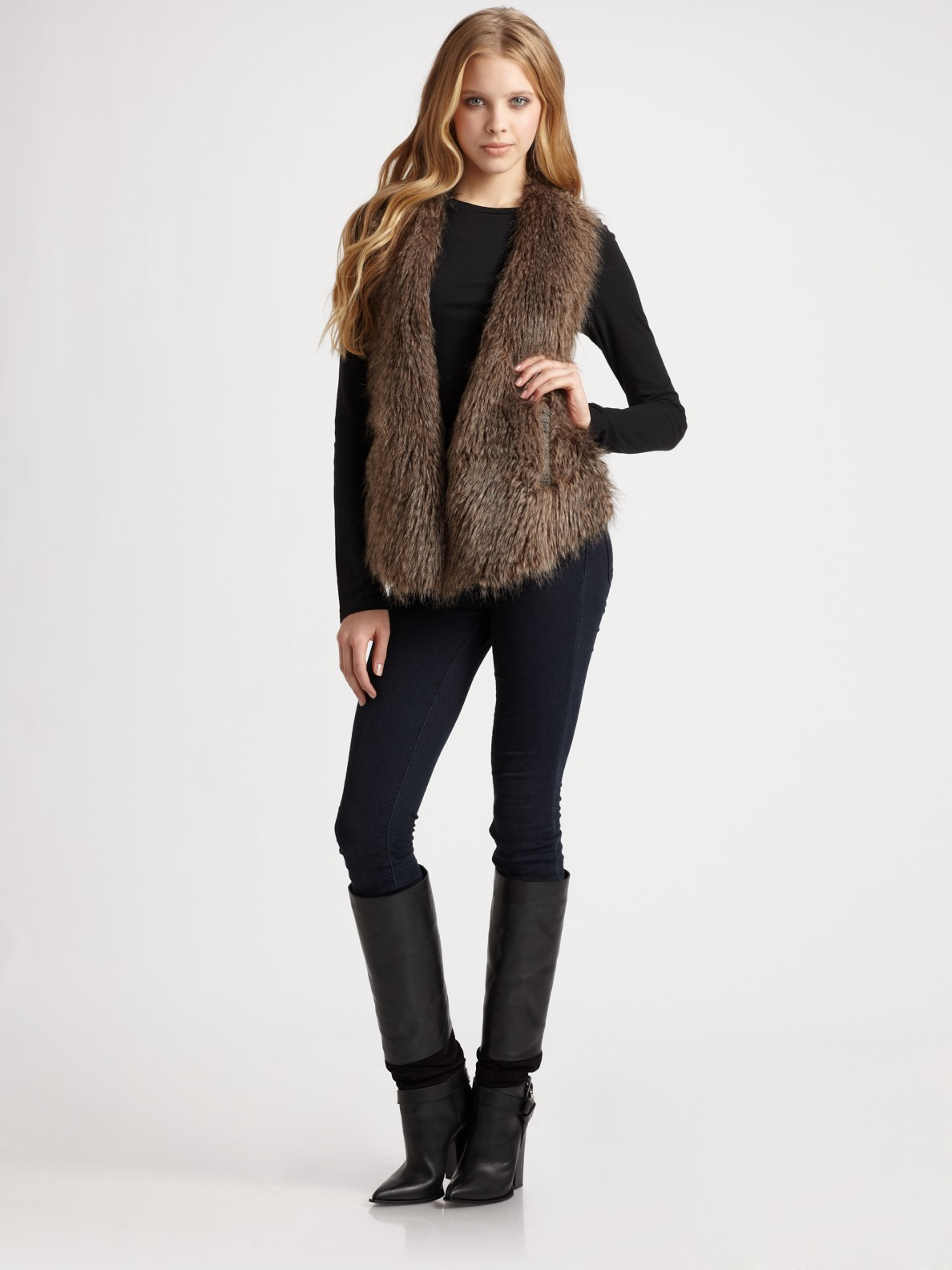 Brown faux fur child vest, long furry girls vest, tan fur vest, black fur vest, brown fur vest HinkleysHooks. 5 out of 5 stars (1,) $ Favorite Add to There are faux fur vest for sale on Etsy, and they cost $ on average. The most common faux fur vest material is faux fur. The most popular color? You guessed it.