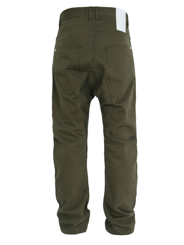 Humor Chino Army Green Trousers for Men