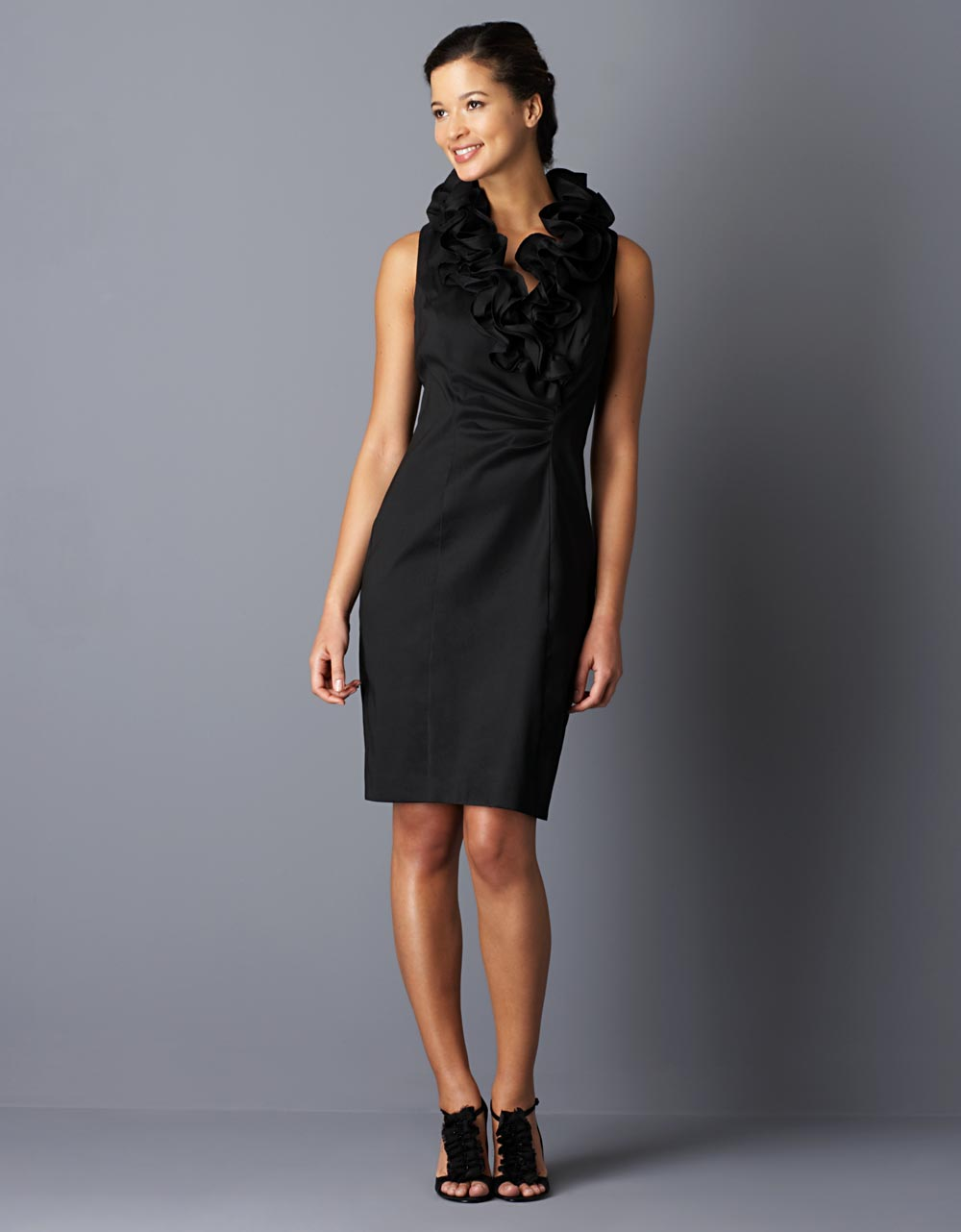 59fae2c46c6 Xscape Black Dress Lord And Taylor