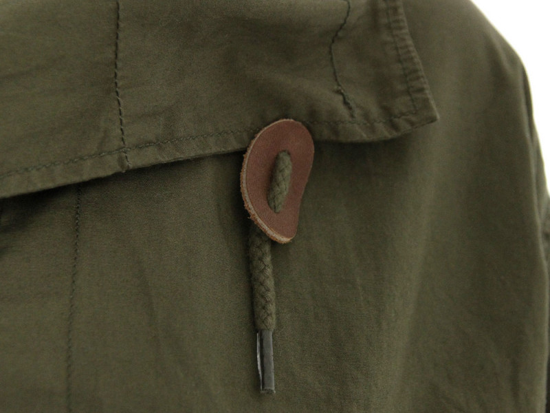 YMC Casual Olive Parka Jacket in Green for Men