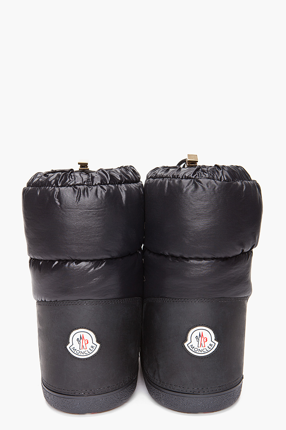 Moncler Moon Boots In Black For Men Lyst