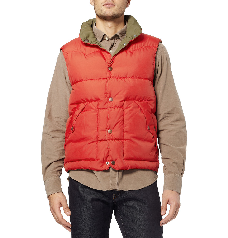 polo ralph lauren grafton reversible quilted gilet in red. Black Bedroom Furniture Sets. Home Design Ideas